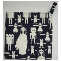 Aliens Pot Holder Potholder Grab Mat Kitchen Cookware Pad