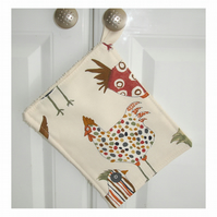Kitchen Grab Pad Potholder Pot Holder Hen Chicken