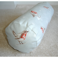 "Bolster Cushion Cover 16""x6"" Round Cylinder Neck Roll Christmas Pillow"