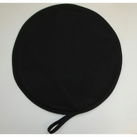 Black Aga Hob Lid Mat Pad Hat Round Cover Surface Saver