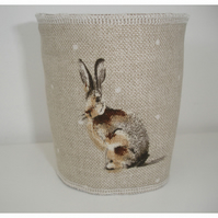 Coffee Cup Sleeve Cosy Cozy Hares Rabbits