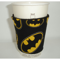 Batman Cup Cosy Sleeve Cozy