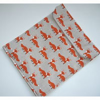 "Fox Kindle Touch 6"" Paperwhite HD 6 Case Cover Sleeve Orange Foxes"