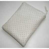 iPad Mini Tablet Case Cream Faux Leather Silver Bling