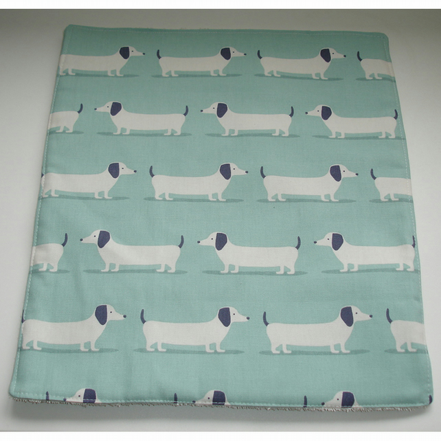 Aga Hotplate Hob Mat Pad Cover Dogs Dachshunds Sausage Dogs Duck Egg