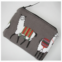 Llama Purse Coin Credit Card Llamas Alpaca Alpacas