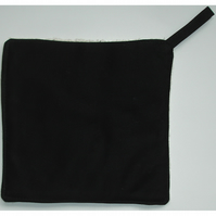 Pot Holder Potholder Kitchen Grab Mat Pad Black Chef's Surface Saver
