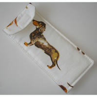 Dachshund Dogs Glasses Case