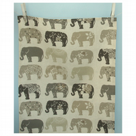 Tea Towel Elephants