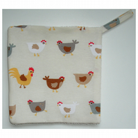 Pot Holder Potholder Kitchen Grab Pad Mat Chickens