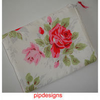 Kindle Touch or 6 Wi-Fi Pouch Case Cath Kidston Classic Rose