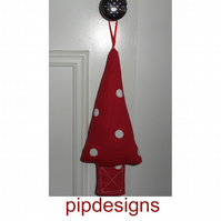 Polka Dot Christmas Tree Decoration