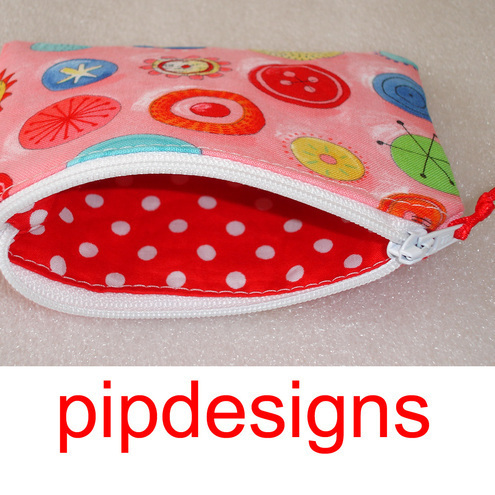 Buttons Coin Purse