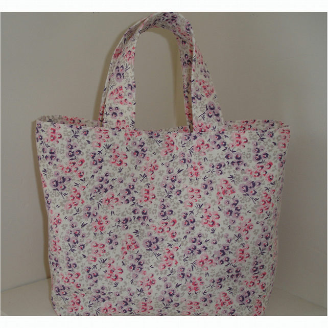 Handbag Laura Ashley Tallulah Foxglove Pink Purple