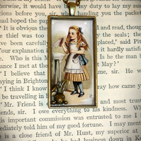 Drink Me - Alice pendant -  - (Only one pound Post and Packing on all items)