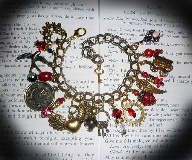 The Lost Treasure of the Flor De La Marie - Charm Bracelet.