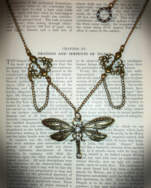 Dragonfly Jewelled Necklace