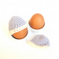 Crochet Egg Cosies in Lilac 100% Merino Wool - Set of 2 - Made To Order
