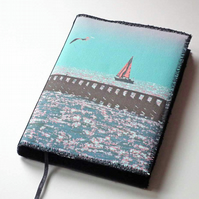 Notebook Cover, A6, Out To Sea, Photo-Art