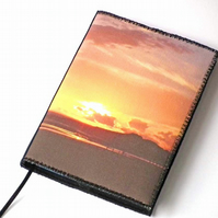 Notebook Cover, A6, South Coast Sunset, Photo-Art