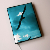 Notebook Cover, A6, Seagulls, Photo-Art
