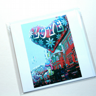 Blank Card, Greetings Card, Photo-Art, Carnaby Street