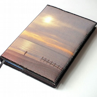 Notebook Cover, A6, Evening Stroll, Photo-Art, Made To Order