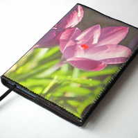 Notebook Cover, A6, Crocus, Photo-Art, Made-To-Order