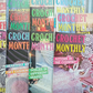 Crochet Monthly Magazines x 12, Back Issues 1987-92