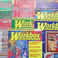 Workbox Magazines x 7, Back Issues 109-115, 2008-09, Textile Arts & Crafts