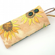 Glasses Case, Sunglasses Case, Velcro Closure, FREE UK P&P