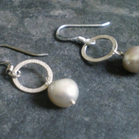 Delices sterling silver earrings