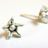Star Blum Sterling Silver earrings