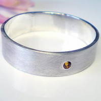Hello Honey - a Citrine and sterling silver ring