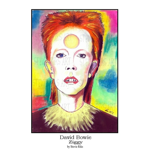 David Bowie (Ziggy)  -  A3 Signed Limited Edition