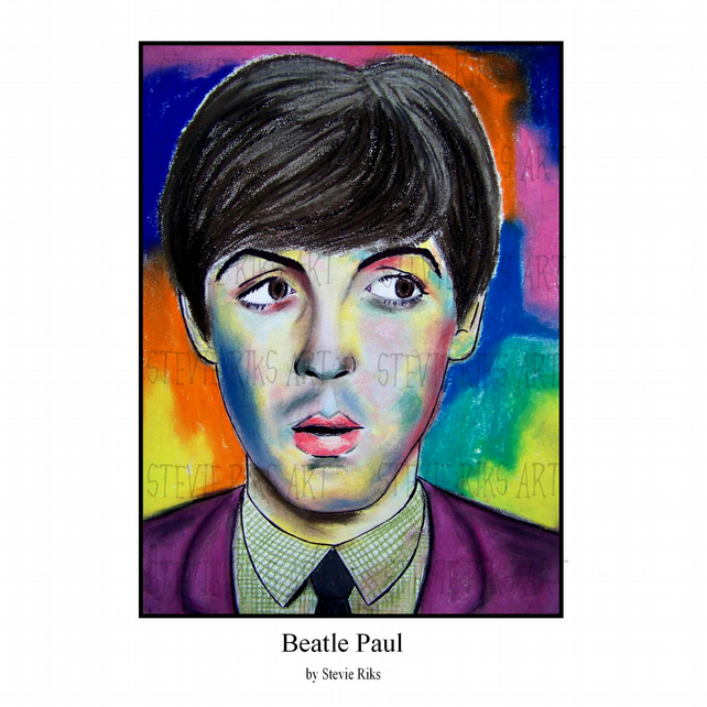 Beatle Paul - A3 Limited Edition Signed Print