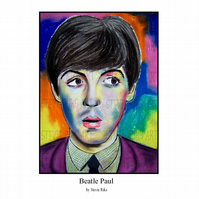 Beatle Paul - A4 Art Print