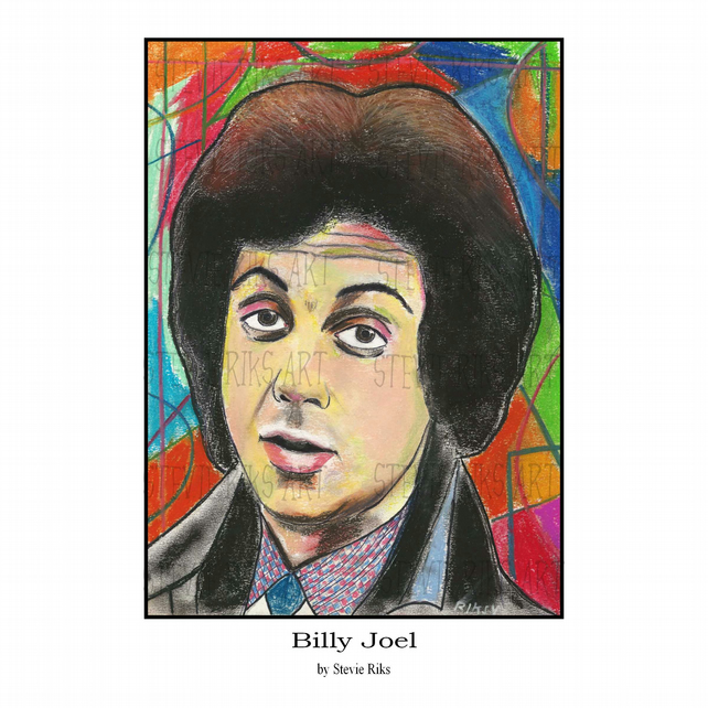 A4 Print - Billy Joel