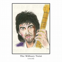 A4 Print - George Harrison - The Wilbury Twist