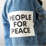 PEOPLE FOR PEACE ARMBAND - JOHN LENNON