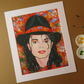 MICHAEL JACKSON - ART PRINT WITH MOUNT