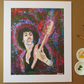 PHIL LYNOTT - ART PRINT WITH MOUNT