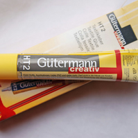 Gutermann Textile Glue HT2 30g X FREE Felt Pack and a FREE 30g Mix Bag of Random Buttons