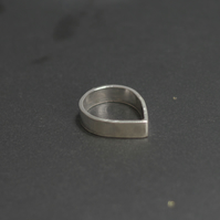 Sterling Silver Pointy Ring, Sterling Silver Statement Ring