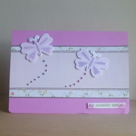 **ONE DAY SALE ITEM 17th FEBRUARY** Butterfly Card For Someone Special