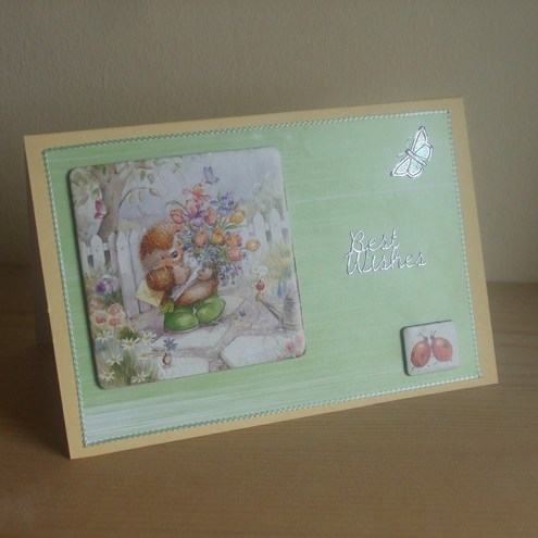 **ONE DAY SALE ITEM 21st FEBRUARY** Hedgehog Birthday Card