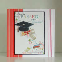 Handmade Degree Or Exam Congratulations card (354)