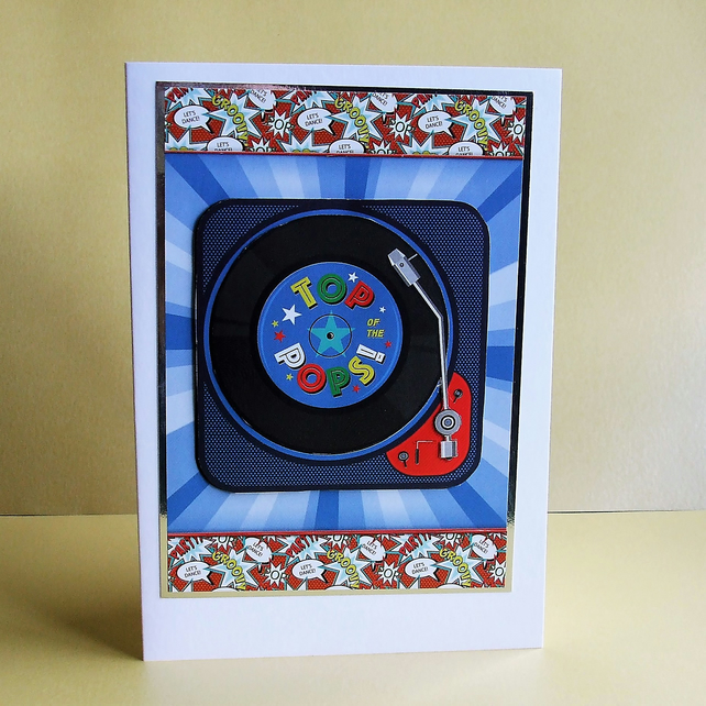 Handmade Card, Suitable For Father's Day or Birthday (440)