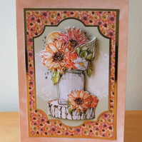Card for Someone Special, Sunflowers