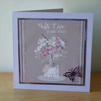 With Love Card  (527)